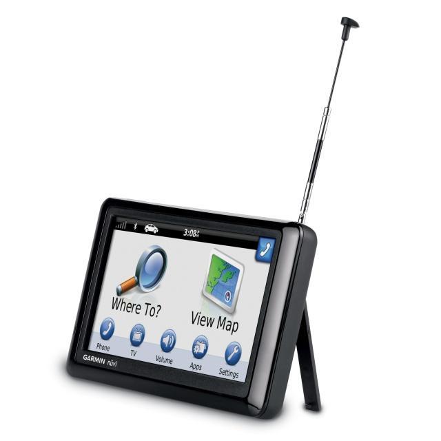 Garmin nüvi 2585TV  – pierwsza nawigacja z wbudowanym tunerem DVB-T
