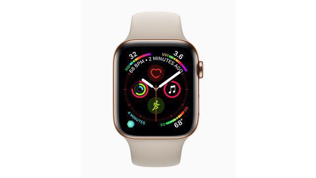 Apple Watch interfejs