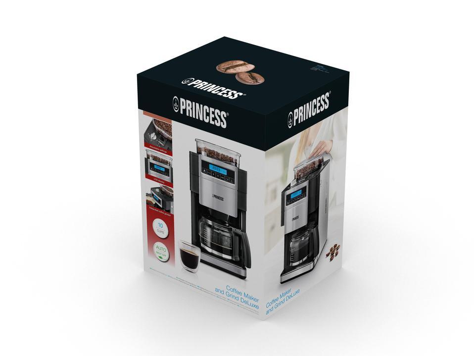 Princess Coffe Maker & Grinder DeLuxe (24940201)