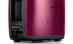 Toster Philips HD2628/00 (950W/Czarno-bordowy)