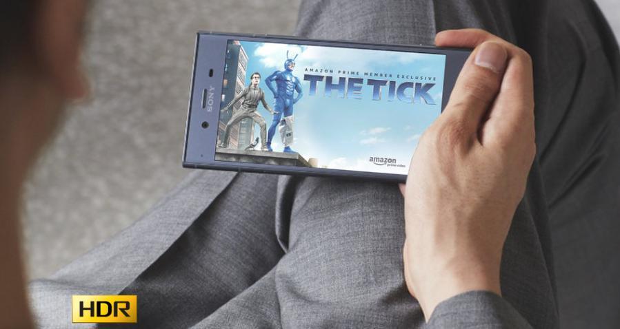 Sony Xperia XZ1 obsługuje tryb HDR podczas oglądania filmów