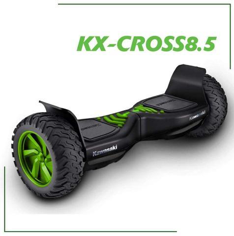 Tak prezentuje się nowy pojazd Kawasaki - klasycznie w kolorze zielonym.