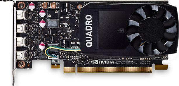PNY Technologies Quadro P1000 4GB GDDR5 (VCQP1000V2-PB)