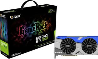 Palit GeForce GTX 1070 GameRock 8GB GDDR5 (256 bit) 3x DP, HDMI, DVI