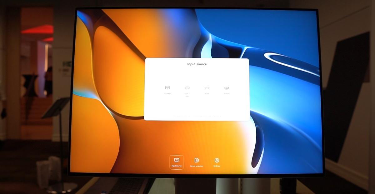 Monitor zaoferuje wiele opcji bezprzewodowych