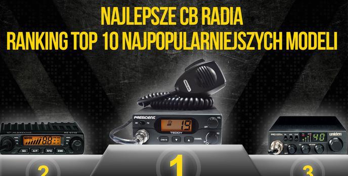 Najlepsze CB Radia – Ranking TOP 10 Najpopularniejszych Modeli