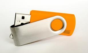 GoodRam Twister 8GB USB 2.0 Pomarańczowy