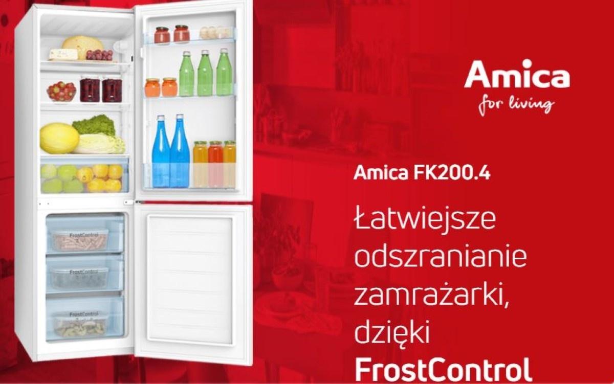 Lodówka  Amica FK200.4 z Frost Control