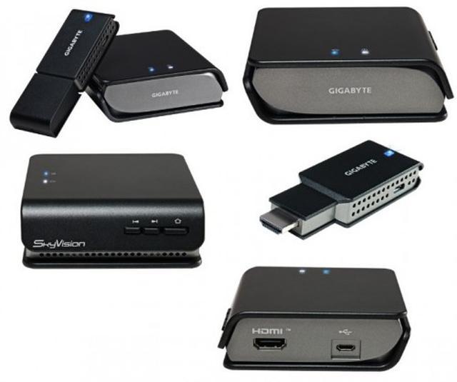 GIGABYTE SkyVision WS100 - bezprzewodowy transmiter obrazu