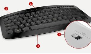 Microsoft Arc Keyboard