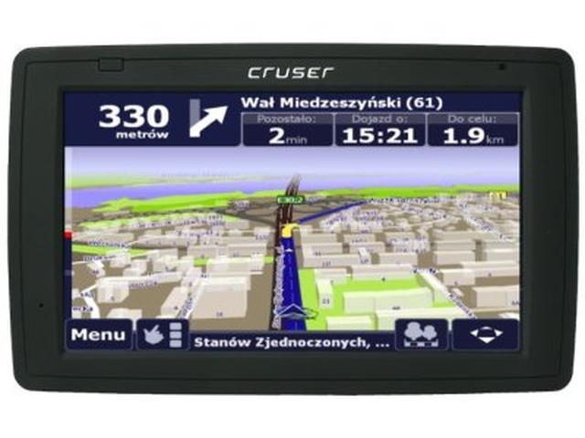 Cruser Omega B70 – nawigacja z 7-calowym ekranem