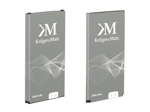 Kruger & Matz Smartfon DRIVE 2.1 , dwie baterie w zestawie