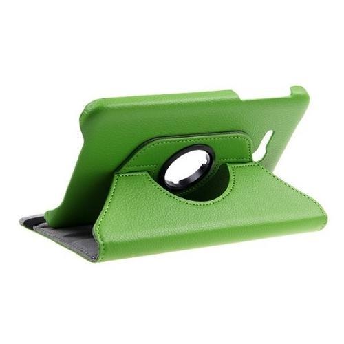 "WEL.COM Etui obrotowe Samsung Galaxy Tab 4 7"" zielone"