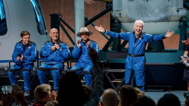 Zespół Blue Origin znalazł się w kosmosie na zaledwie kilka minut