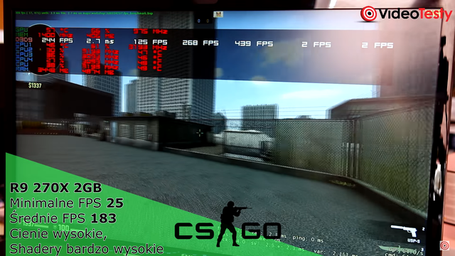 Ilość FPS w CS:GO