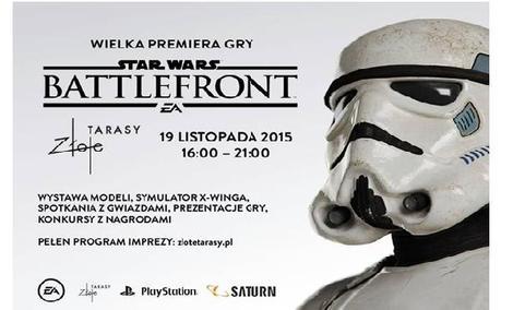 Star Wars Battlefront – Wielka Premiera Gry w Złotych Tarasach