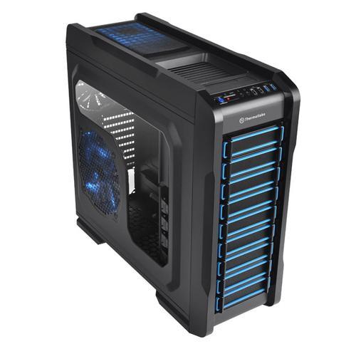 Thermaltake Chaser A71 Big Tower USB3.0 Window HDD Dock (120mm 3x200mm, LED), czarna CHŁODZENIE WODNE