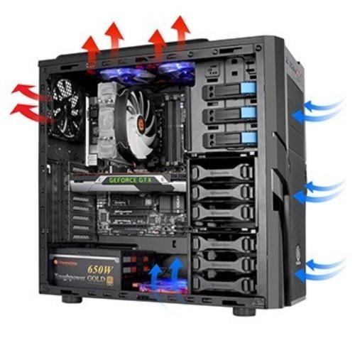Thermaltake Commander G41 USB3.0 (120mm), czarna