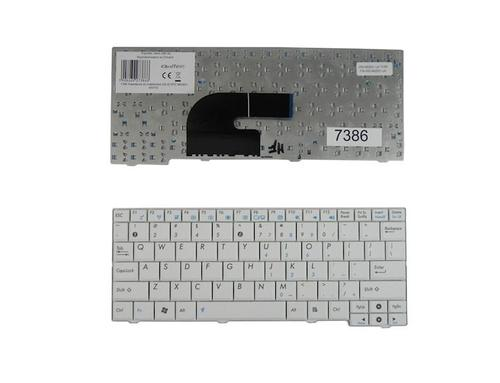 Qoltec Klawiatura do notebooka ASUS EPC MK90H WHITE