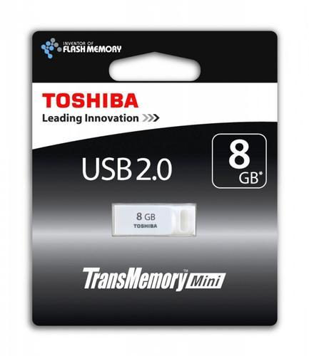 Toshiba 8GB SURUGA WHITE USB 2.0 RETAIL