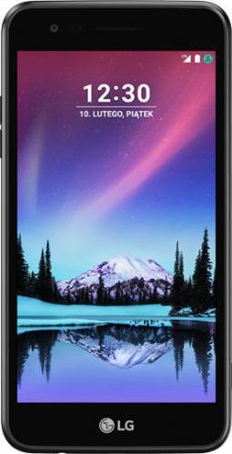 LG K4 2017 Czarny (M160_BLACK)