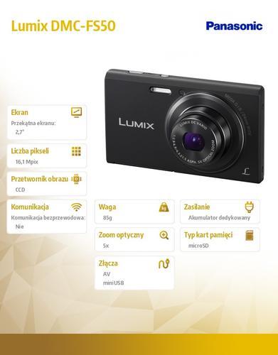 Panasonic Lumix DMC-FS50 black