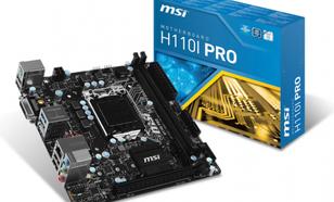 MSI H110I-Pro (7995-004R)