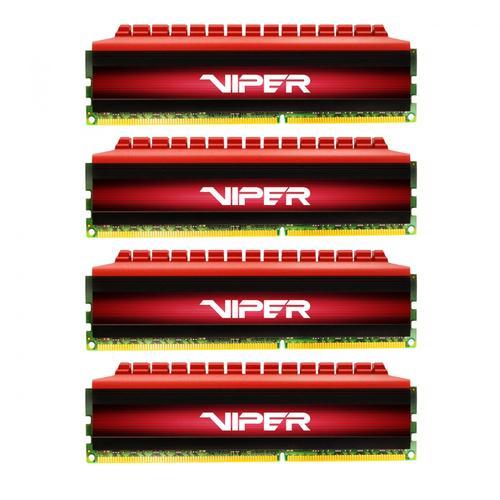 Patriot DDR4 32GB (4x8GB) Viper 4 2400MHz CL15 XMP2