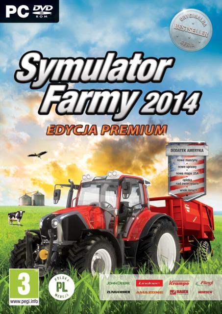 Symulator Farmy 2014 wersja Premium oraz dodatek Ameryka dostępne w sprzedaży