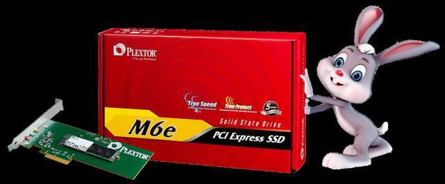 ultraszybki dysk  SSD – Plextor M6e PCIe.