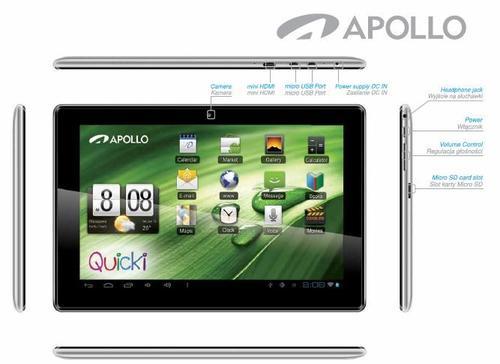 Apollo Quicki 1150 Dual Core IPS 1280x800 Aluminium