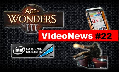 VideoNews #22 - Nexus 8,  Firefoxie Sync, HTC One (M8), Age of Wonders III
