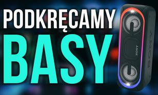 Podkręcamy basy - Recenzja SONY SRS XB40