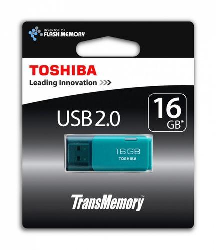 Toshiba HAYABUSA 16GB USB 2.0 AQUA