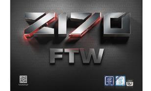 EVGA Z170 FTW, Z170, DDR4, SATA3, USB 3.0, ATX (140-SS-E177-KR)