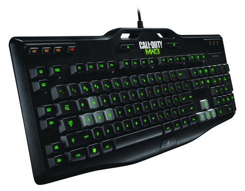 Logitech G105 Klawiatura podświetlana Call of Duty