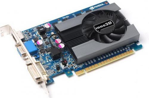 Inno3D GeForce GT 730 2GB SDDR3 (128 Bit) HDMI, DVI, D-Sub, BOX (N730-6SDV-E3CX)