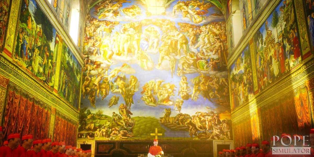 Pope Simulator ma oddać wnętrza bazyliki Św. Piotra