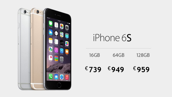 Ceny iPhone 6S