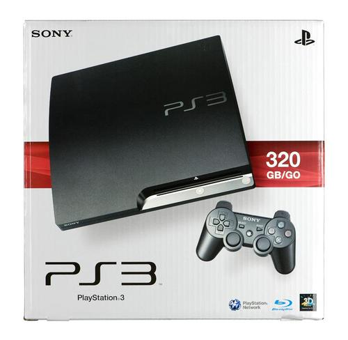PS3 SLIM (320 GB)