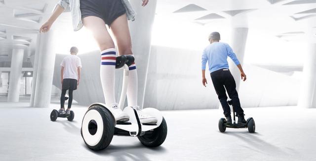 Ninebot jest samobalansującym pojazdem