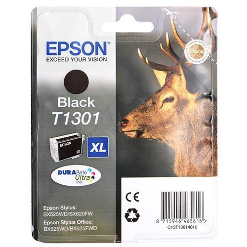EPSON Tusz Czarny T1301=C13T13014010, 25.9 ml