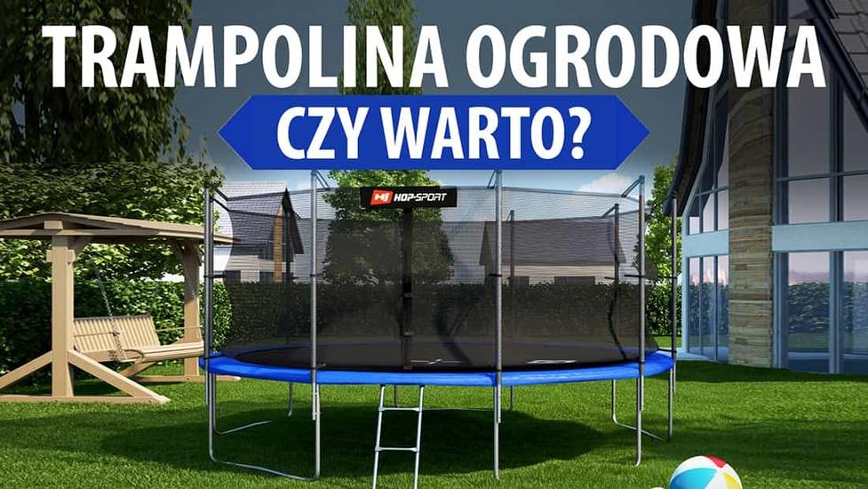 5 Powodów, dla których warto kupić trampolinę ogrodową