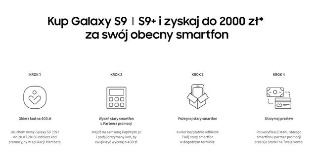 Galaxy S9 Taniej