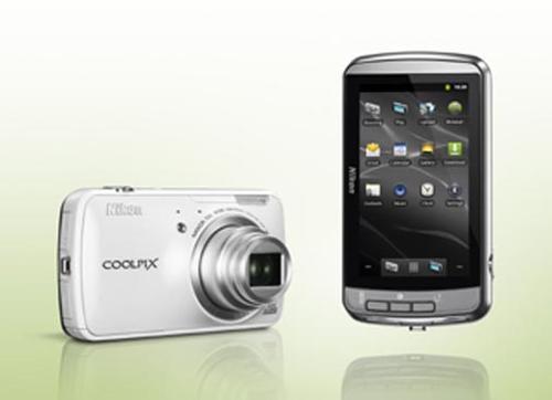 NIKON COOLPIX S800C CZARNY
