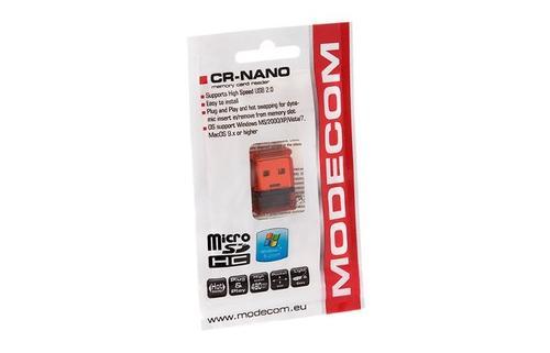 Modecom Czytnik kart CR-NANO100 Czerwony