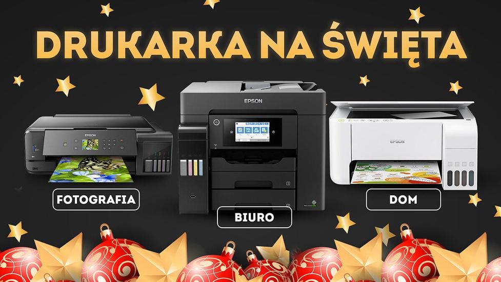 Jaka drukarka na Święta? Sprzęty do domu, dla fotografa i do biur!