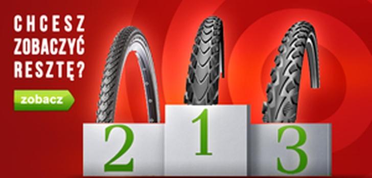 10 Trwałych Opon Rowerowych - Ranking Sierpień 2015