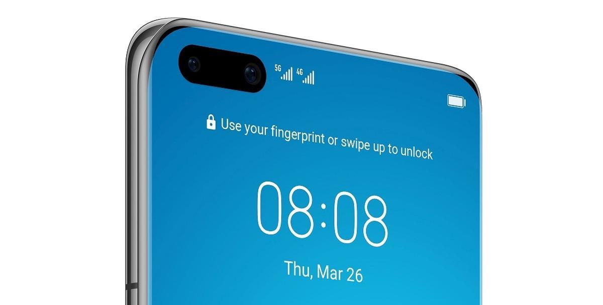 Odblokowanie twarzą w Huawei P40 odbywa się z pomocą podczerwieni