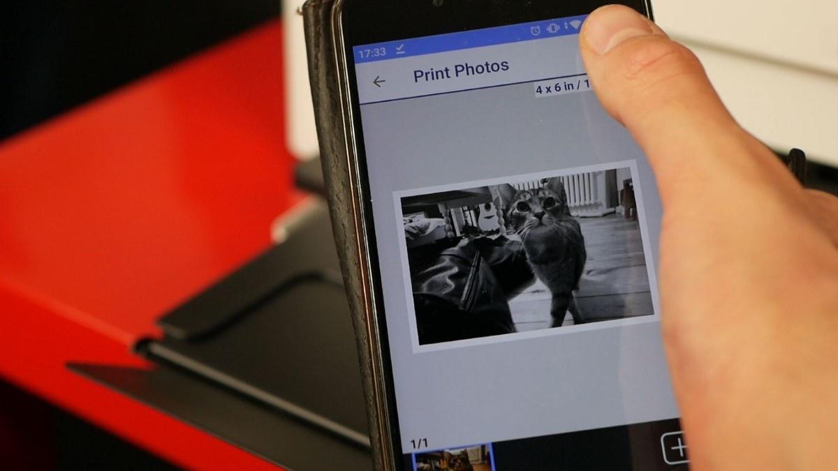 Korzystanie z aplikacji Epsona w telefonie z Androidem